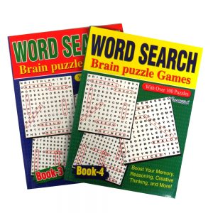 Wordsearch Puzzle Books