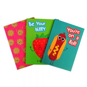 Yummzies A5 Notebooks Pack of 3