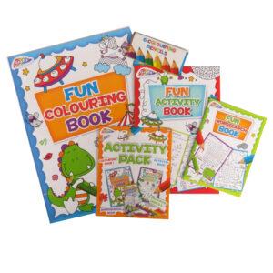 Grafix Travel Activity Pack 3 Books