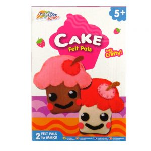 Make Your Own Cake Felt Pals