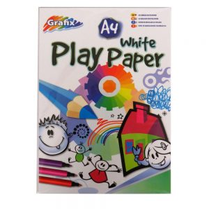 Grafix A4 White Play Paper