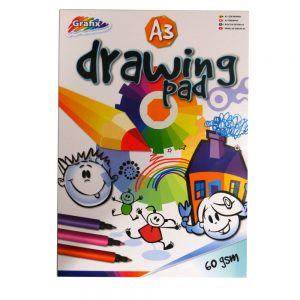 Grafix A3 Drawing Sketching Painting Pad