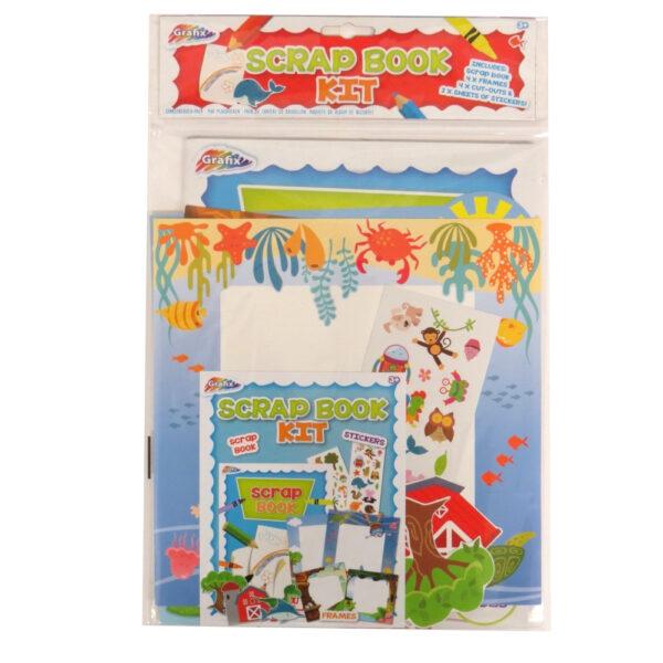 Grafix Childrens Scrapbook Kit