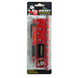 Disney Mickey Mouse Stationery Set