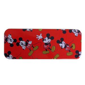 Disney Gold Mickey Mouse True Tin Flip Pencil Case