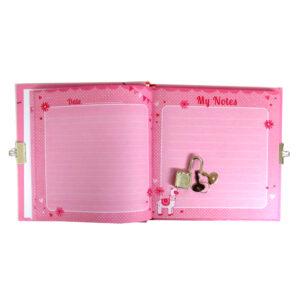 Girls Lock and Key Diary My Pretty Llama 3