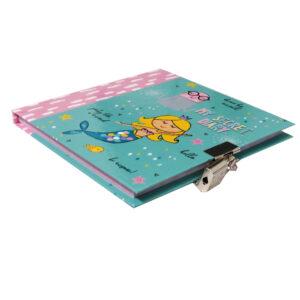 Girls Lock and Key Diary Mermaid Dream Big 2