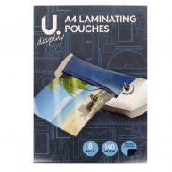 A4 Laminating Sheets Pack of 8