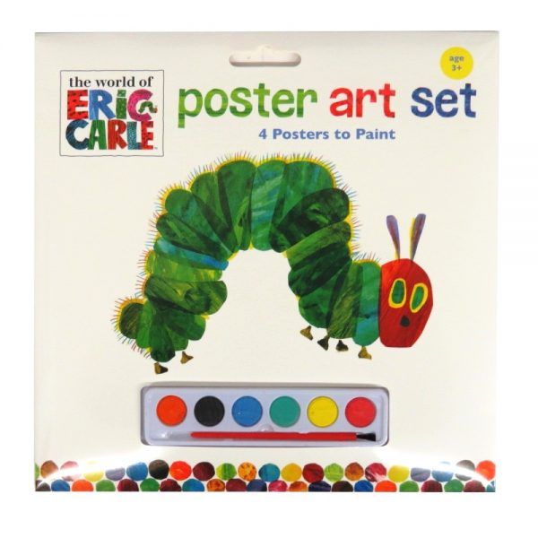 Eric Carle Hungry Caterpillar Poster Art Pack