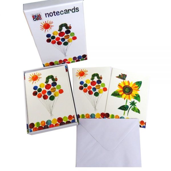 Eric Carle Hungry Caterpillar Notecards Pack