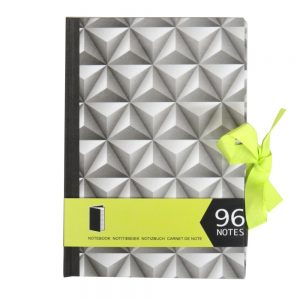 A5 Notebook 3D Triangles