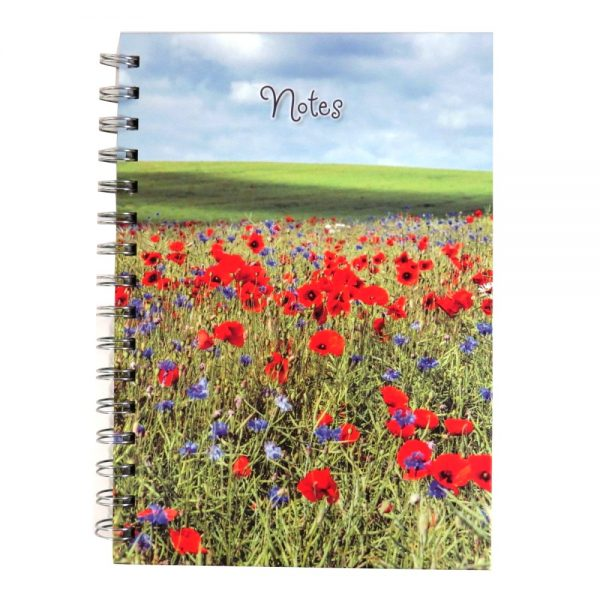 Robert Frederick Wild Flowers A5 Notebook