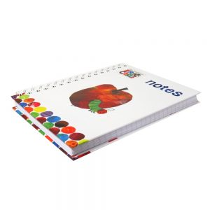 Eric Carle Hungry Caterpillar A5 Wirebound Notebook, Apple