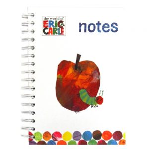 Eric Carle Hungry Caterpillar A5 Notebook