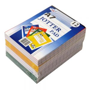 A7 Jotter Notepad Pack of 12