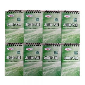 5 x 3 Spiral Pocket Notebooks, Pack of 8