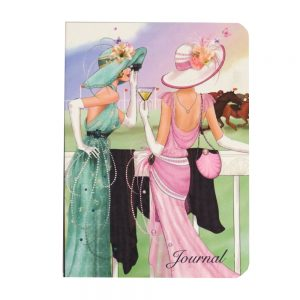 A6 Notebook Claire Coxon Art Deco Horse Races