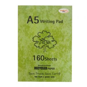 A5 Writing Notepad Recycled Paper