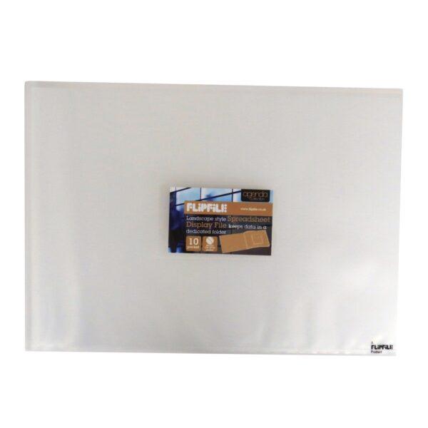 A4 Landscape Document Wallet Display File