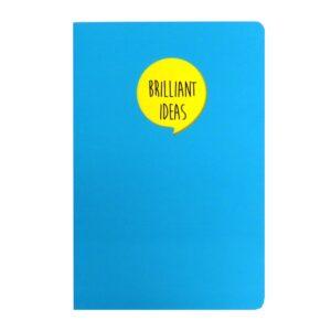 Grafix A5 Speech Quote Notebook Brilliant Ideas