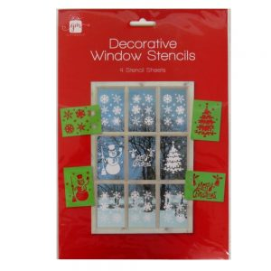 Christmas Window Stencils
