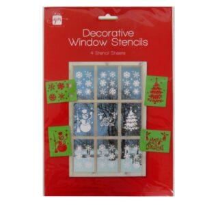 Christmas Window Stencils