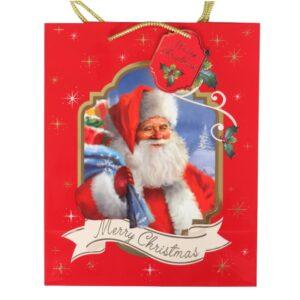 Christmas Traditional Framed Gift Bag