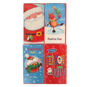Money Wallets Pack of 4 Cute Designs