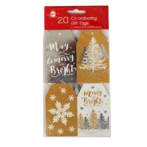 Gift Tags Metallics Designs