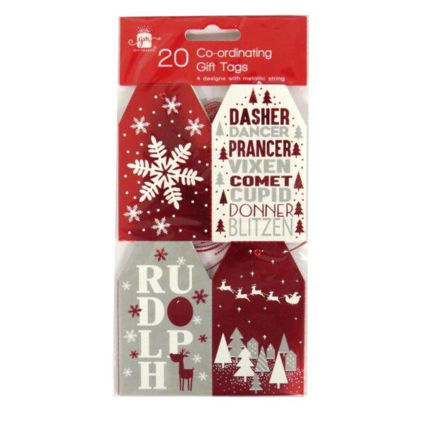 Christmas Gift Tags Cosy Christmas