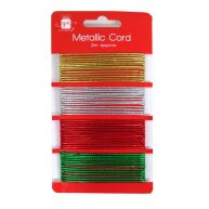 Christmas Metallic Gift Wrapping Cord