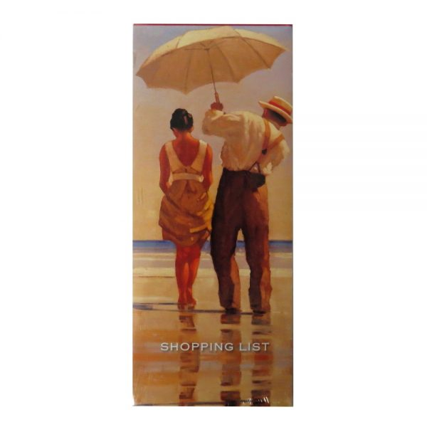 Shopping List Notepad Jack Vettriano Mad Dogs