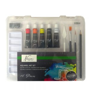 Nassau Fine Aquarelle Paint Art Set 18 Piece