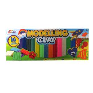 Grafix Madelling Clay 16 Piece