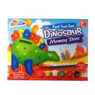 Paint Your Own Dinosaur Money Box