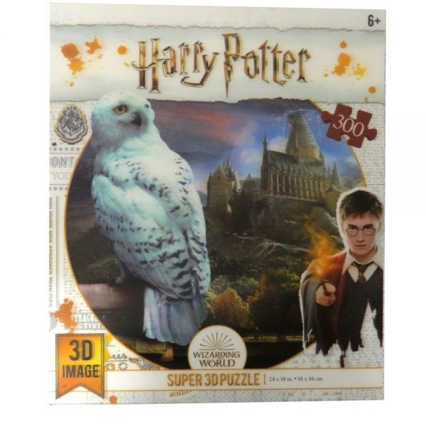 Harry Potter Jigsaw Puzzle Hedwig - Front
