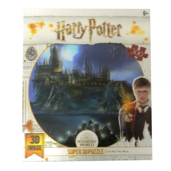 Harry Potter Jigsaw Puzzle Hogwarts - Front