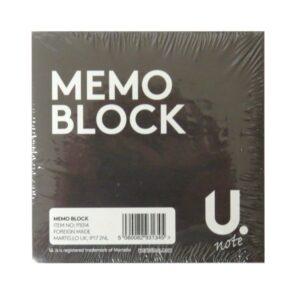 White Paper Memo Block