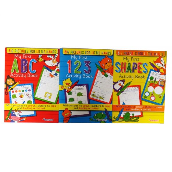 My First Shapes, ABC and 123 Colour Activity Books