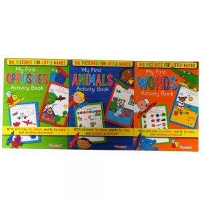 My First Opposites, Animals and Words Activity Books