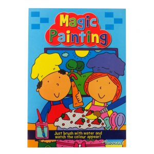 Squiggle Magic Painting Book - Book 4