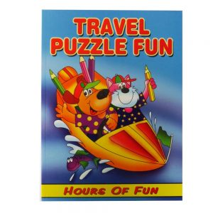 Travel Puzzle Books Front 2