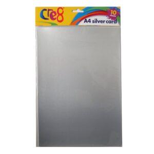 A4 Silver Card
