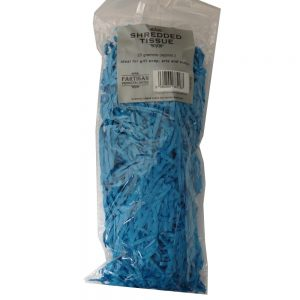 Partisan Shredded Tissue Paper - Aqua