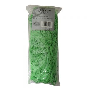 Partisan Shredded Tissue Paper Dark Green