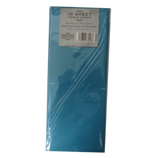 Partisan Tissue Paper Aqua