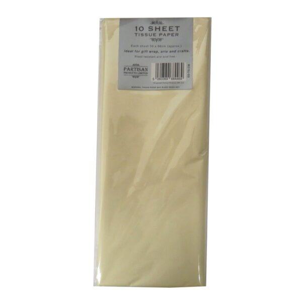 Partisan Tissue Paper Cream