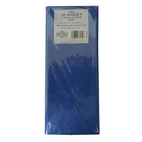 Partisan Tissue Paper Dark Blue