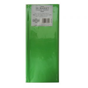 Partisan Tissue Paper Dark Green