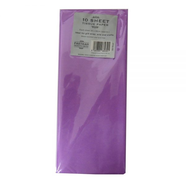 Partisan Tissue Paper Lilac